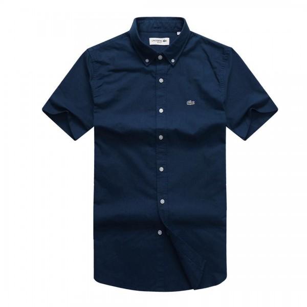 Lacoste Short-sleeve Shirt | Navy Blue