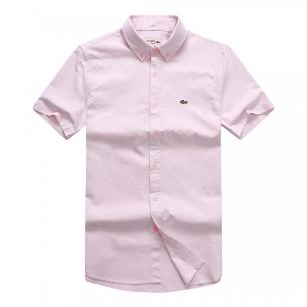 Lacoste Short-sleeve Shirt | Pink