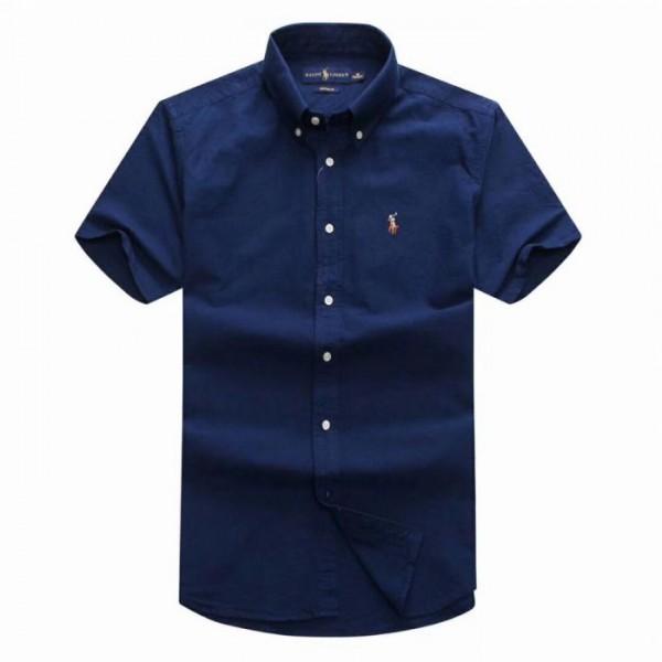 PR Lauren Short Sleeve Shirt | Navy Blue