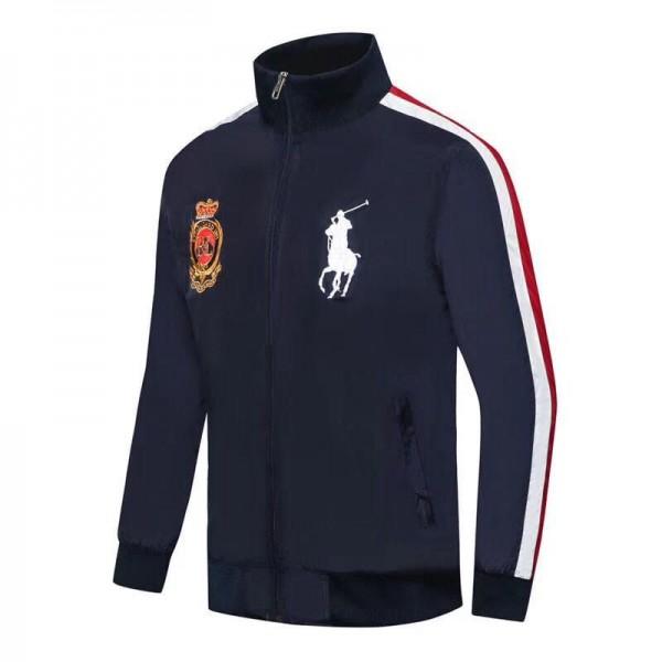 PR Lauren Big Ponny RLXVIIL Crested Jackets| Navy ...