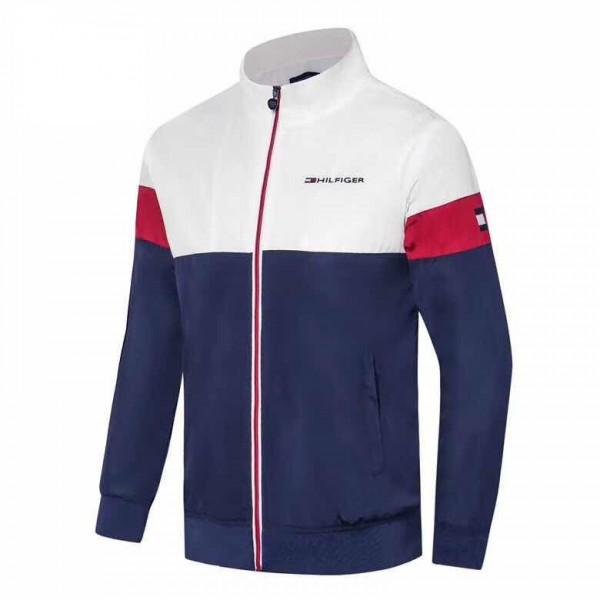 Tommy Hilfiger Jackets | White Red Navy Blue