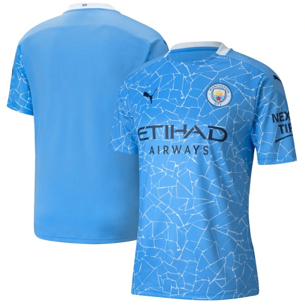 Manchester City 2020-21 Home Jersey