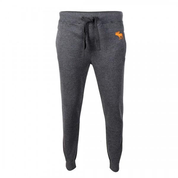 Abercrombie And Fitch Moose Designed Grey Joggers