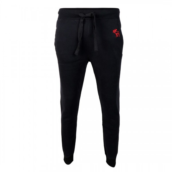 Abercrombie And Fitch Moose Designed Black Joggers