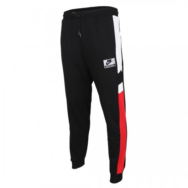 NK Sportswear Men's Joggers- Black Red