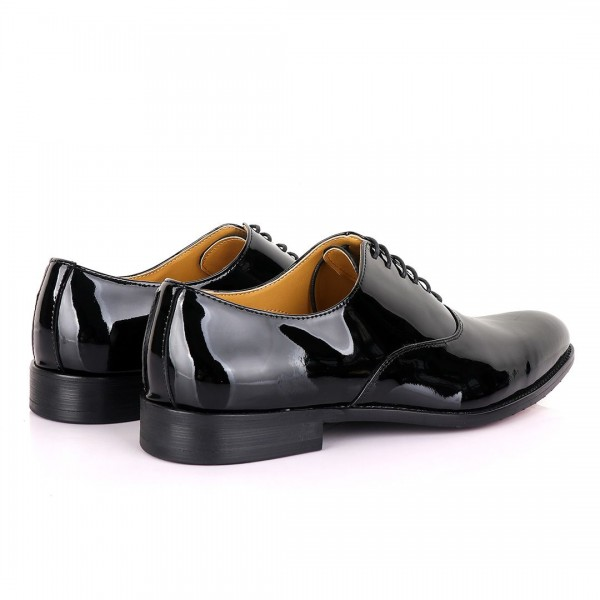 John Mendson Wetlips Lace up Loafers | Black