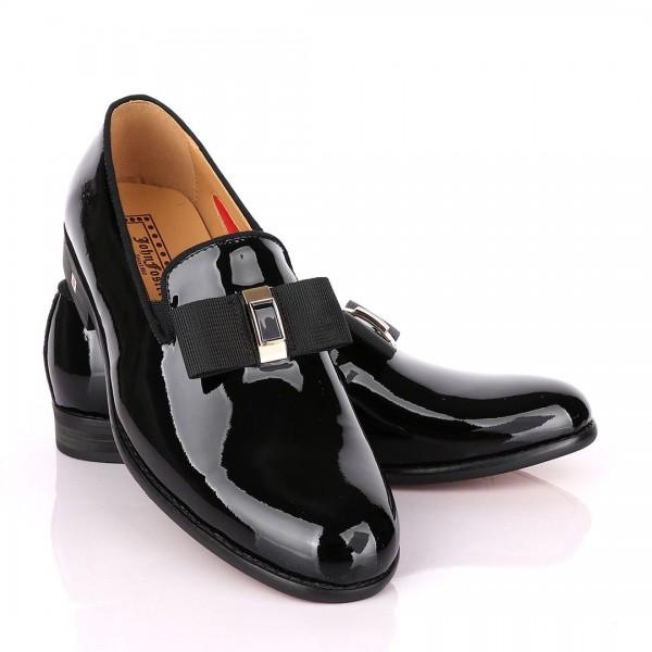 John Foster Bow Wetlips Shoe   Black