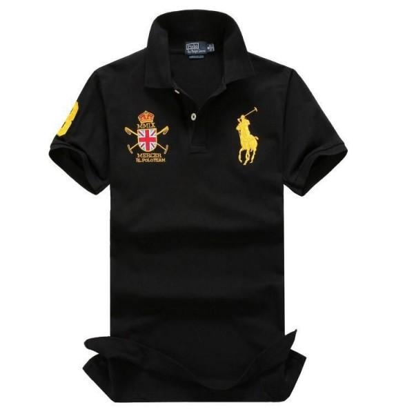 PR Lauren MMIX Mercer double crested Polo | Navy B...