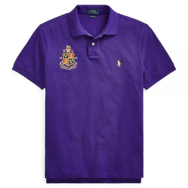 PR Lauren Crested Small Polo | Purple