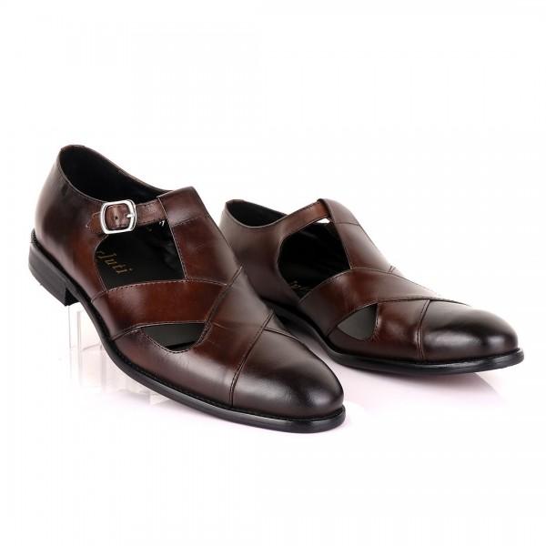 Berluti Men's Sandals | Coffee Brown