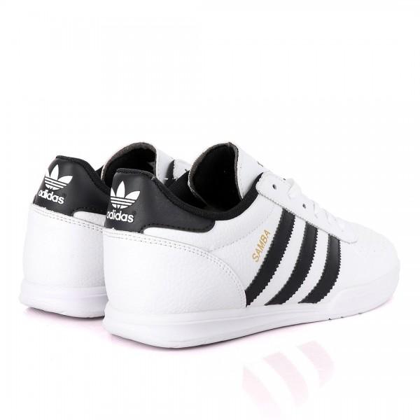 Adidas Samba Palace White And Black Sneakers