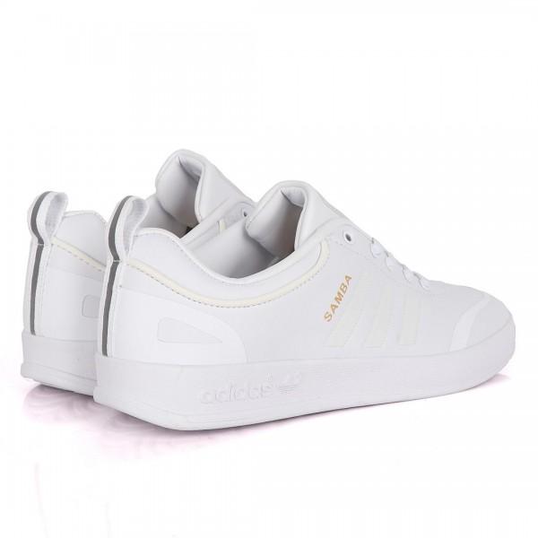 Adidas Samba Palace All White Sneakers