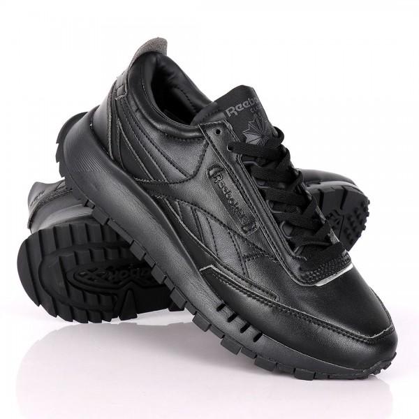 Reebok Classic Leather Black Sneakers