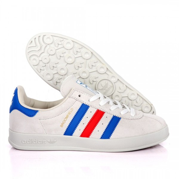 AD Originals Sneakers With Blue And Red Stripes