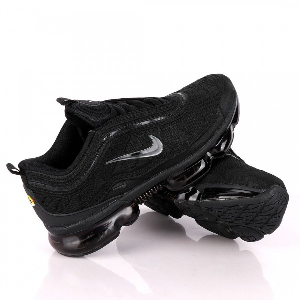 NK Max All Black Sneakers With Tuned Pressure Sole