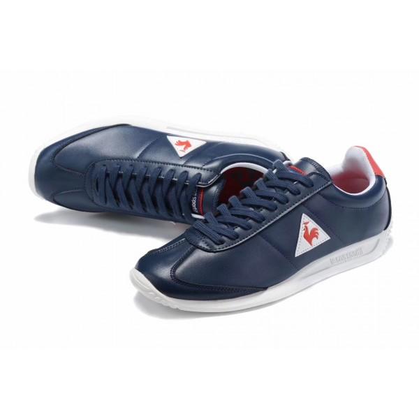 Le Coq Sportif Leather Premium Sneakers | Blue