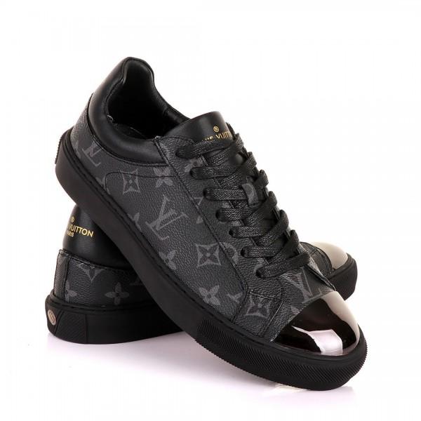 LV Signature Monogram Sneakers | Black