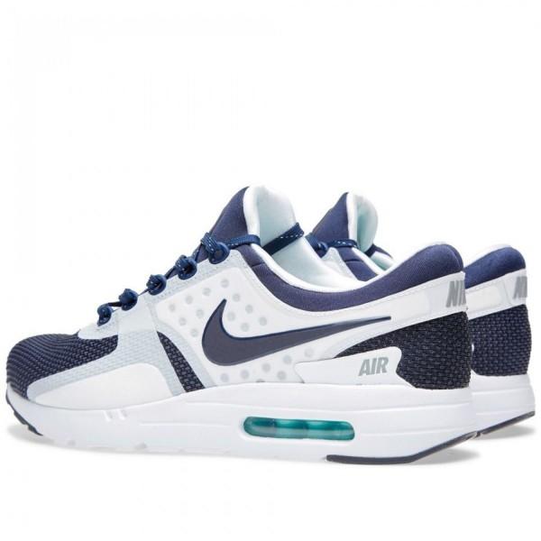 Nike Air Max Zero QS White & Mid Navy