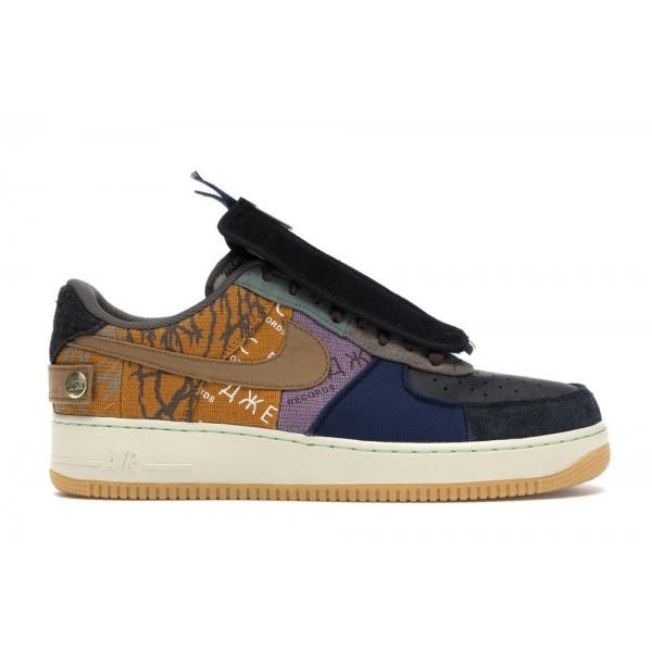 NAF 1 Low Travis Scott Sneakers | Multicolored