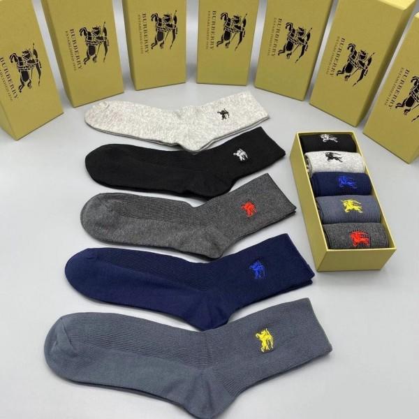 Burberry Monogram Logo designed Socks