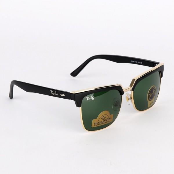 Ray-Ban Havana gold light green G-15 Lens Sunglass...
