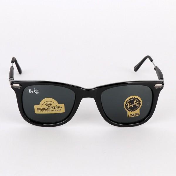 Ray-Ban Luxury Diamond Lens Black Sunglasses