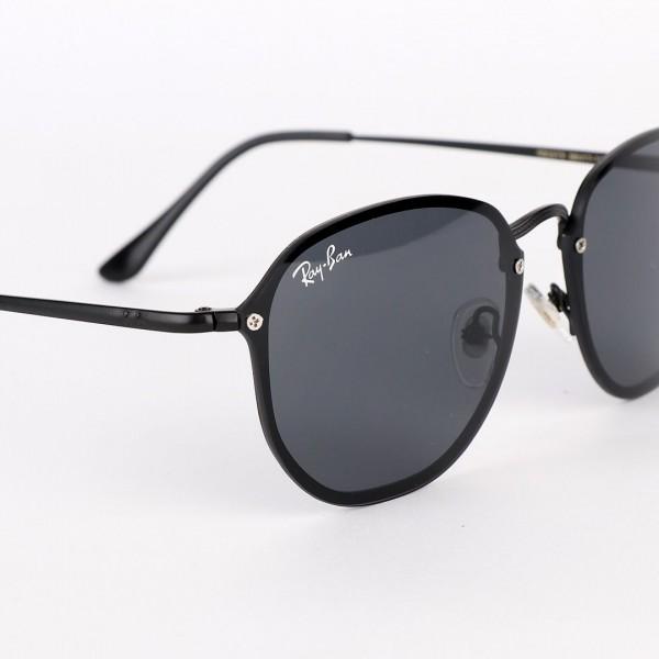 Ray-Ban Round Metal Black Crystal Sunglasses