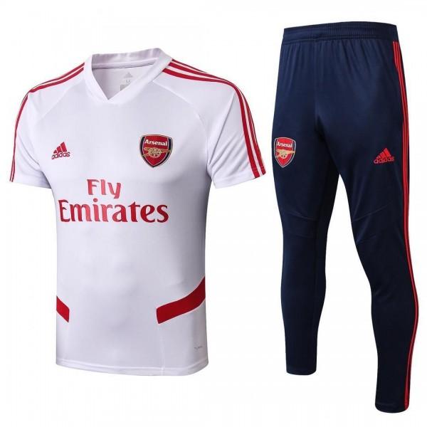 Arsenal Training Tracksuits | White