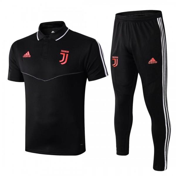 Juventus Polo Tracksuit | Black