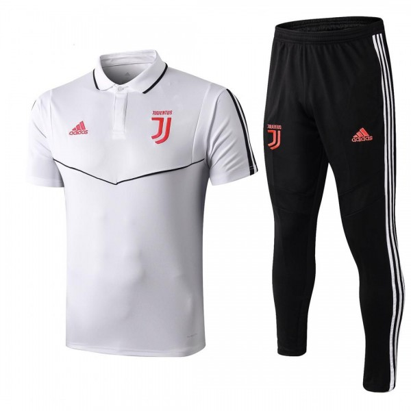 Juventus Polo Tracksuit | White