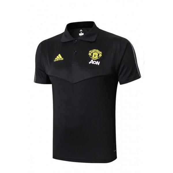 Manchester United Prematch Polo | Black