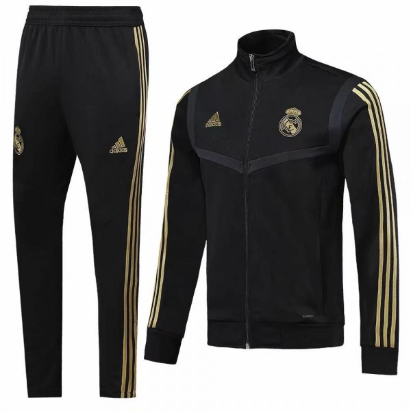 Real Madrid Tracksuits | Black
