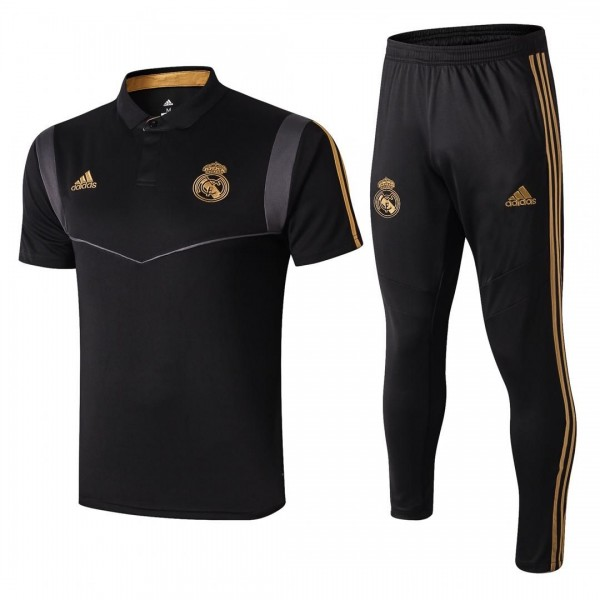 Real Madrid Polo Tracksuit | Black