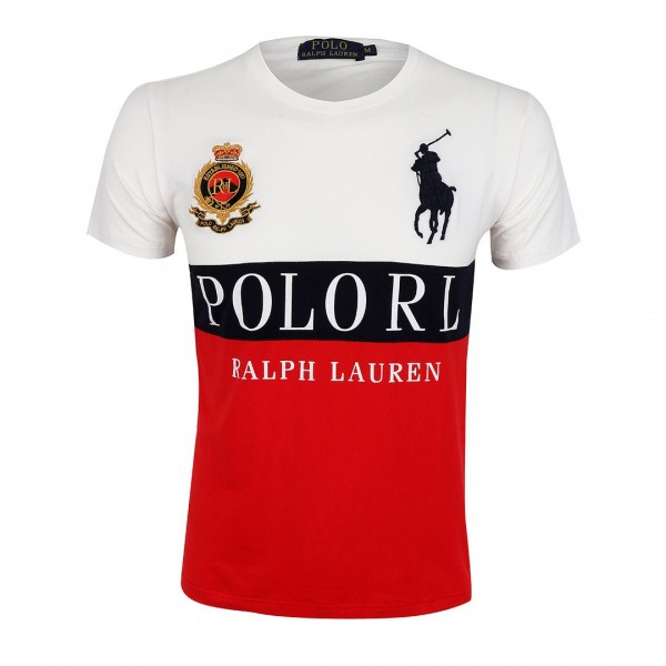 PRL Crested Dry-Fit Red T-shirt