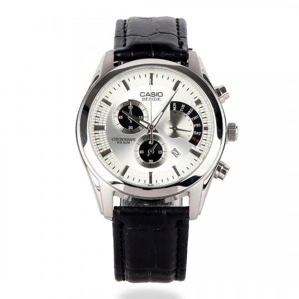 Casio Edifice Wr 50m Women's Dial Leather Watch | ...