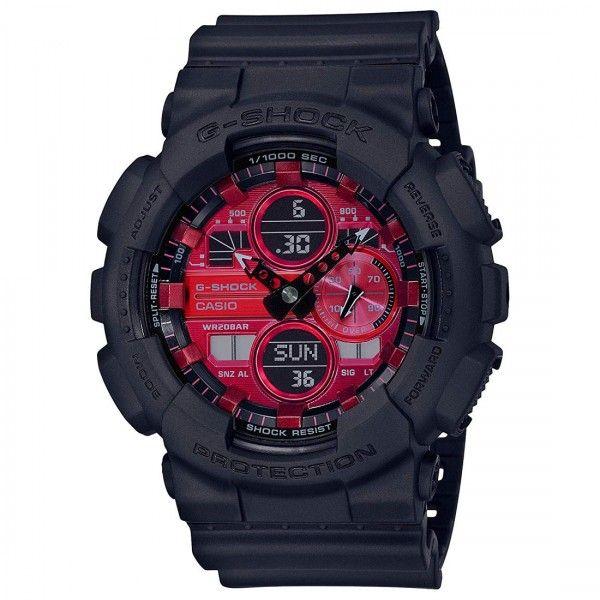 Casio-G-Shock-GA-140AR Analog digital Men's watch ...