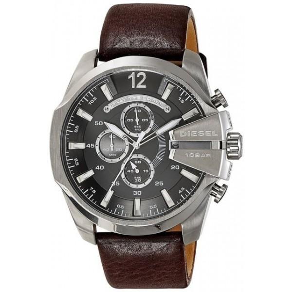 Diesel DZ4290 Chief Chronograph Men's Brown Leathe...