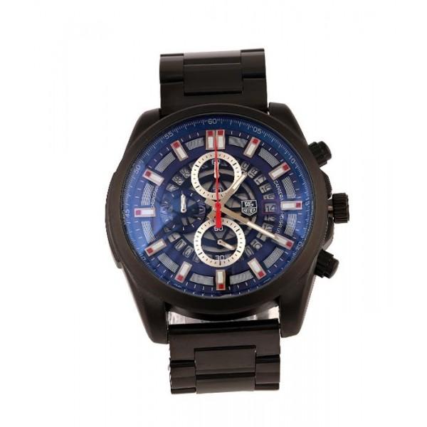 Tag Heuer Navy Blue Dial Bracelet Watch | Black