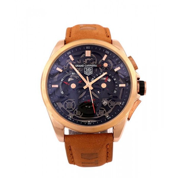 Tag Heuer Black Dial Fabric Watch | Brown