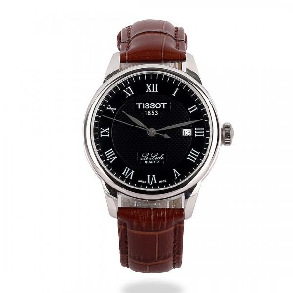 Tissot Lelode Powermatic 80 Leather Watch | Brown